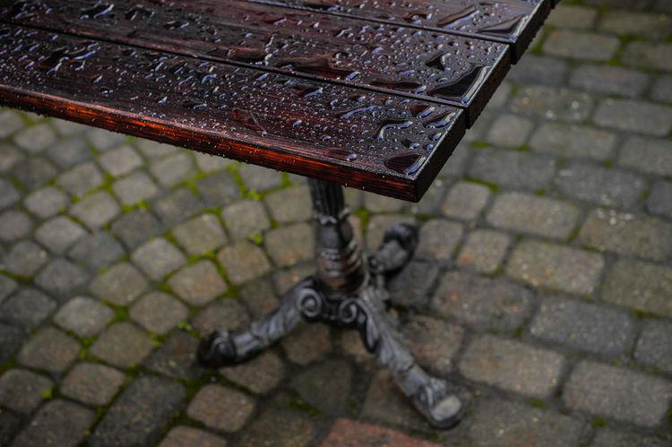 Rain drops on a table City City Life Cityscape Drop Outdoors Rain Rain Drops Rain In The City RainDrop Raindrops Rainy Rainy Day Rainy Days RainyDay