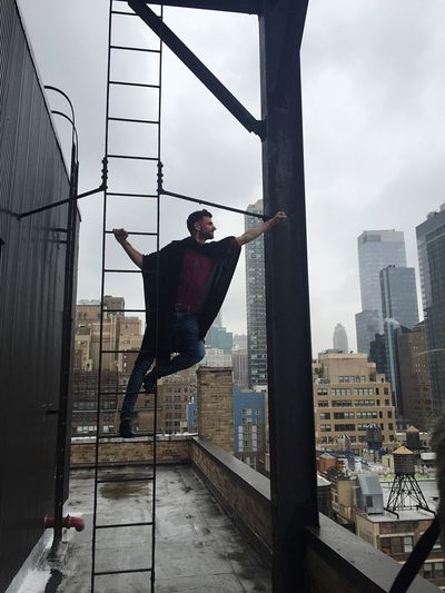 New York Superhero Rooftop My Year My View