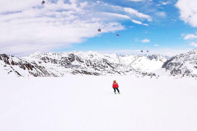 Snow Winter Skiing Mountain Dachtirols Pitztalergletscher Pitztaler Gletscher pitztal