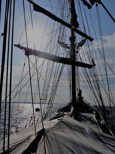 Beauty In Nature Day Mode Of Transport Nature Nautical Vessel No People Outdoors Sailing Ship Scenics Sea Sky Tranquility Transportation Travel Destinations Water