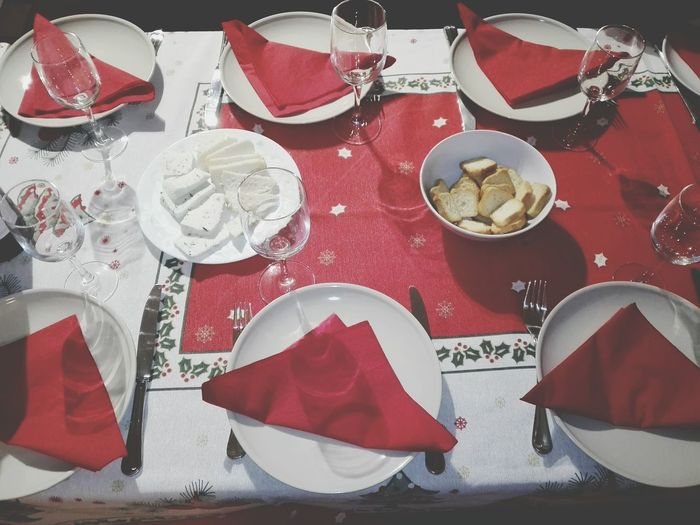 Red Food Food And Drink Table No People Indoors  Sweet Food Plates And Bowls Fork And Spoon Table And Chairs Fresh On The Market 2016 Showcase: December Fresh On The EyeEm Huawei P8 Lite My Smartphone Life Background Texture Textile Red Close-up