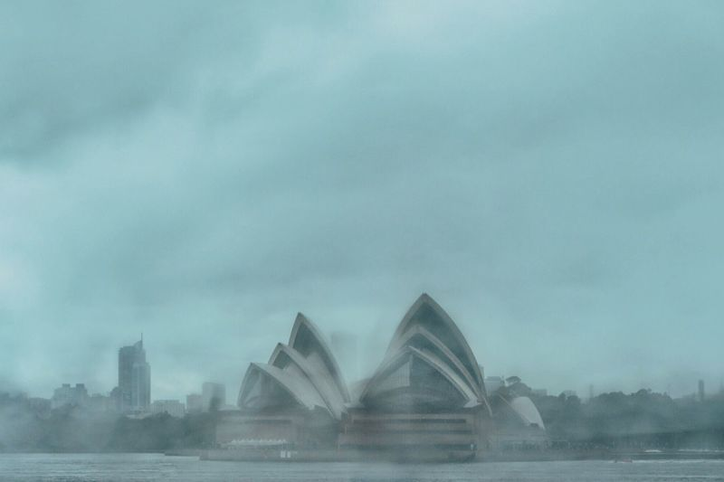• Rainy Season in Sydney 🌧 • Sky Architecture Built Structure Outdoors Travel Destinations No People Day Cloud - Sky Waterfront City Travel Weather Rainy Days Rain Clouds And Sky Sydneystorm Water Building Exterior Nature OpenEdit