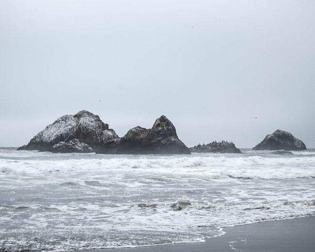 Ocean Beach Photo Mood Life Rocks Breeze Water Hello World Relaxing Enjoying Life First Eyeem Photo