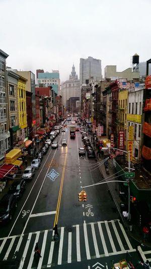 City Life Manhattan Bridge Building Exterior Flying High Urban Road Colorstreet