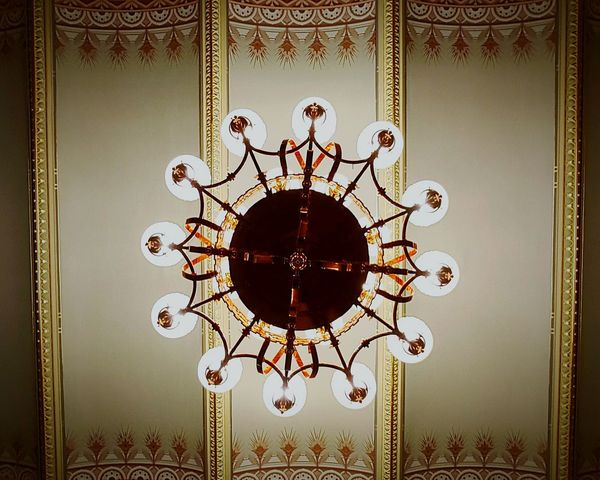 Colour Of Life Chandelier Artistic Ceiling Design EyeEmArt Design Interior Interior Photography Historical Building Historical Architecture