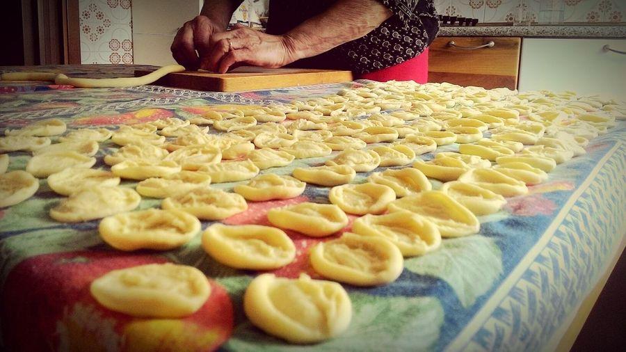 Food Strascinati Puglia Love Sud Cibo Sano Love Italy Italian Food Orecchiette Pugliesi Best Grandma Ever