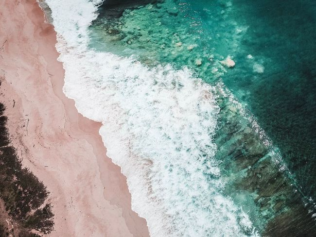 Vacations Beach Waves Adventure Water No People Full Frame Close-up Day Nature High Angle View Sea Aquatic Sport Directly Above Outdoors First Eyeem Photo The Great Outdoors - 2018 EyeEm Awards The Traveler - 2018 EyeEm Awards