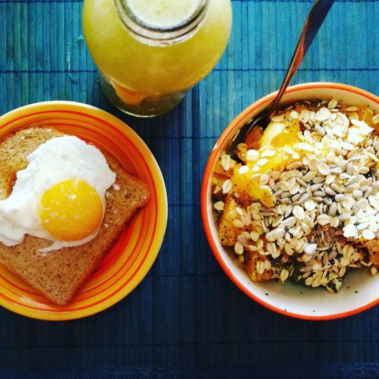 Desayuno Avena Huevo Breakfast First Eyeem Photo Colour Of Life