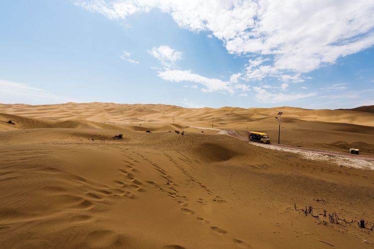 Sand Against Sky