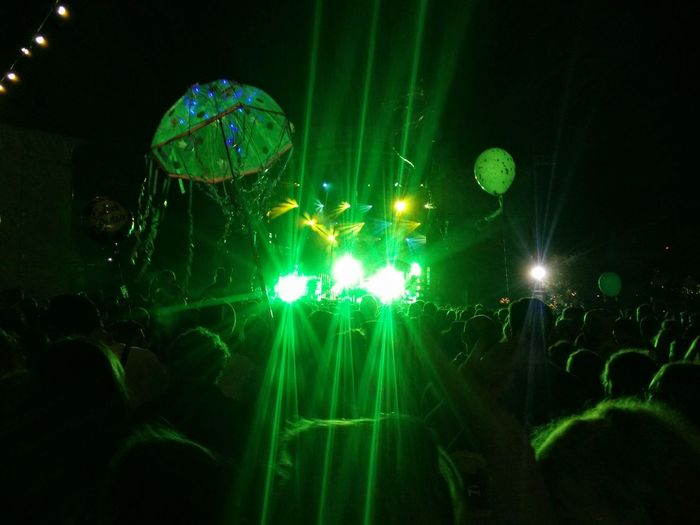 Dockville HUAWEI Photo Award: After Dark Popular Music Concert Illuminated City Arts Culture And Entertainment Celebration Green Color Music Concert Entertainment Stage Light Concert Music Festival Disco Lights Live Event