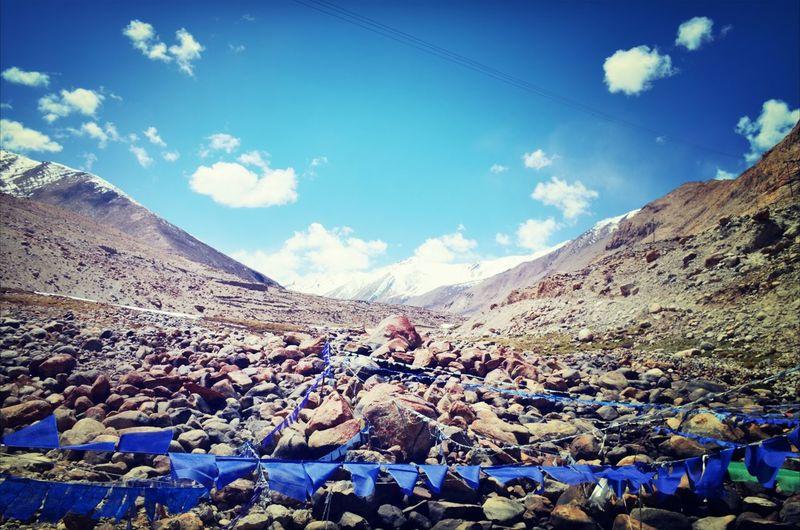Peace Ladakh No People Blue Outdoors Sky Colour Of Life