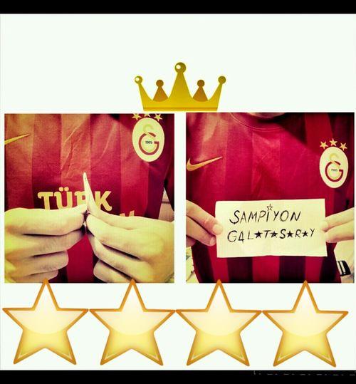 GALATASARAY.RESPECT! GalataSaray Sampiyon GALATASARAY Sarikirmizi That's Me Champions