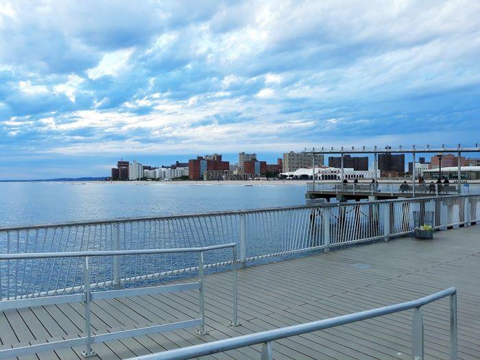 City Water Cityscape Sea Beach Harbor Pier Sky Architecture Building Exterior