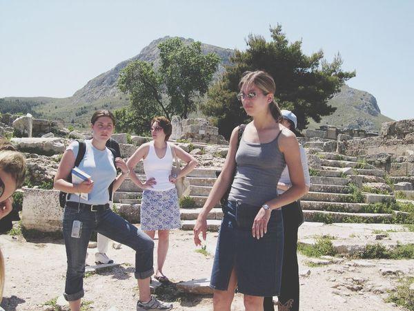 Sightseeing Corinth Greece 2004