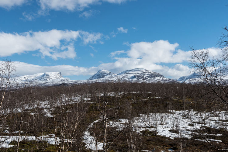 Lapporten Abisko 5 Abisko Beauty In Nature Cloud - Sky Cold Temperature Day Landscape Lapporten Mountain Nature No People Outdoors Scenics Sky Snow Snowcapped Mountain Sweden Tranquility Tree Winter
