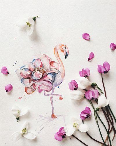 весна Art ArtWork Lovedrawing Illustration Color Flovers