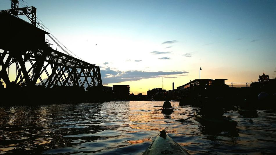 Kayak Port Of Milwaukee On A Boat Adapted To The City Second Acts