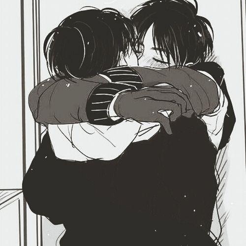 Aww , I'm feeling so lonely suddenly.? Snk Anime Ereri Aot