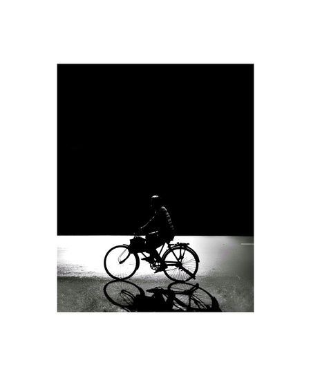 Bicycle No People Indoors  White Background Day Photography Themes Photographing Art Silhouette Outdoors CreativePhotographer Artistic Creative Photography Style Of Today  Art Photography Internationalart Perspectives And Dimensions Men Beautiful One Person Adventure Photographer Fineart Beauty Close-up Stories From The City