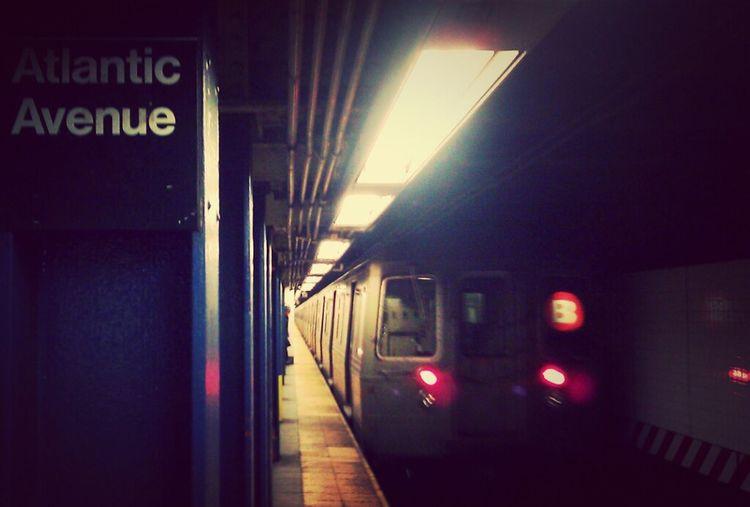 """Atlantic Avenue"" Brooklyn Missed The Train"