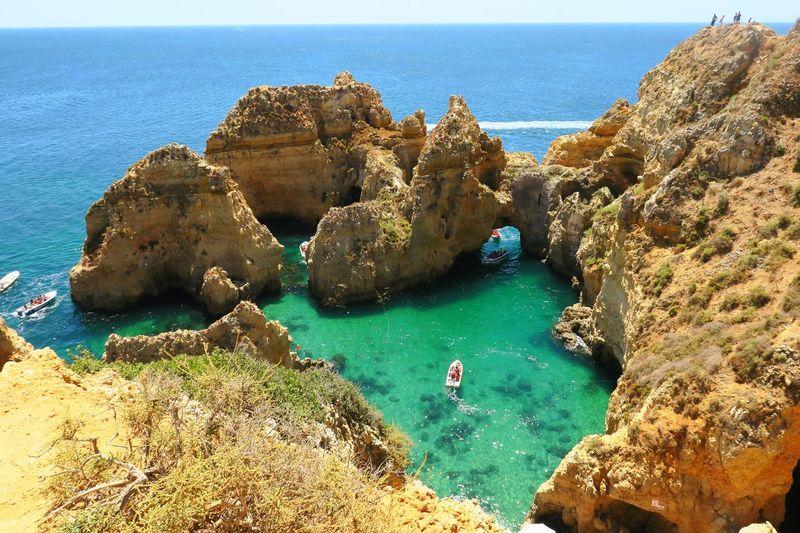 Algarve Europe Travel Colors Summer Ocean Sea Nature Portugal EyeEmNewHere
