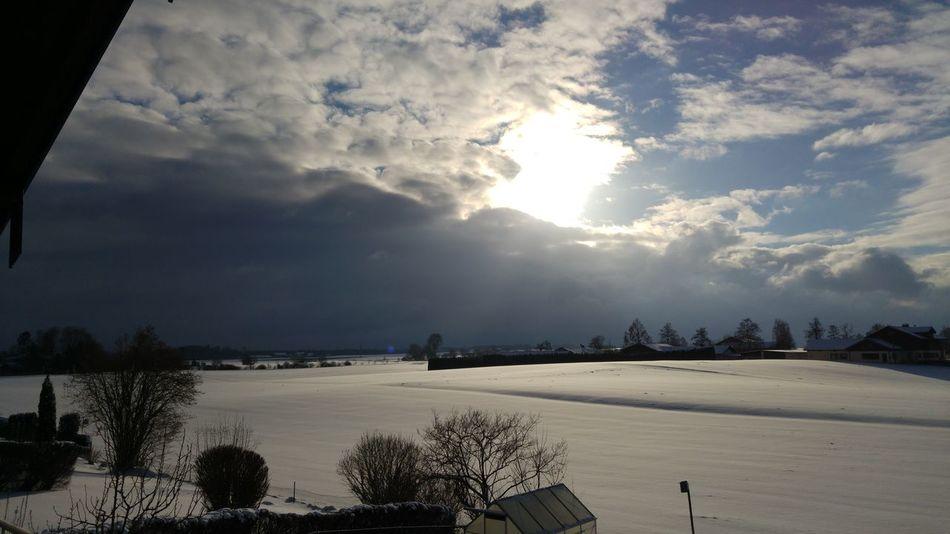 Snow Northernchiemsee Chiemsee Chiemgau Hartsee