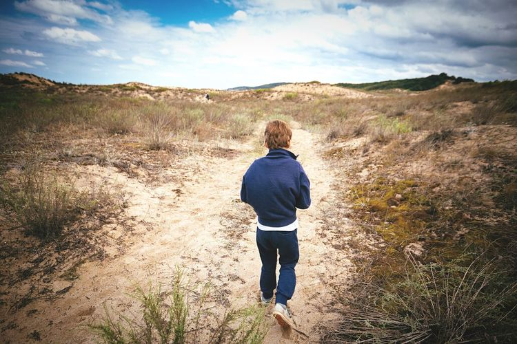 Capture The Moment Walking Around Boy Freedom Exploring Childhood Boyhood Free Sanddunes Sand www.pandevonium.com INEEDNATURE Youth Of Today Feel The Journey
