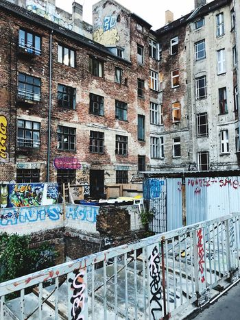Schönhause Allee, Berlin Urbanphotography Urban DDR Mauerpark Berlin Mauerpark Berlin Graffiti Graffiti Art Built Structure Building Exterior Architecture Building Window No People Residential District City Day Graffiti Outdoors Wall - Building Feature