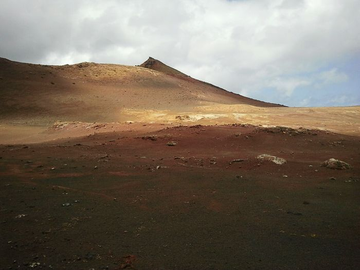 Lanzarote-Canarias Desert Nature Sand Dune Sand Mountain Beauty In Nature Travel Destinations Arid Climate No People