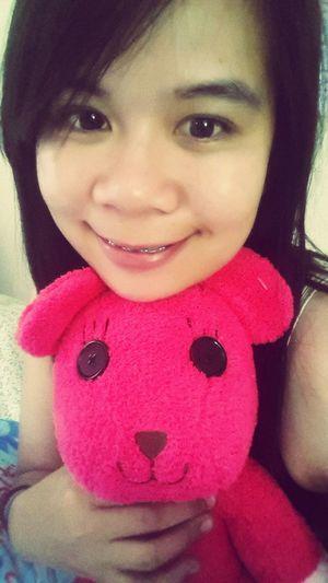 My pink bear....