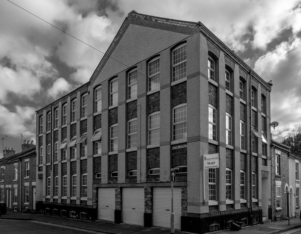 Former shoe factory, Pytchley Street, Northampton Monochrome Photography FUJIFILM X-T2 Black And White Monochrome FUJIFILMXT2 Northampton Architecture Shoe Factory Boot And Shoe Quarter Industrial Industrial Landscapes
