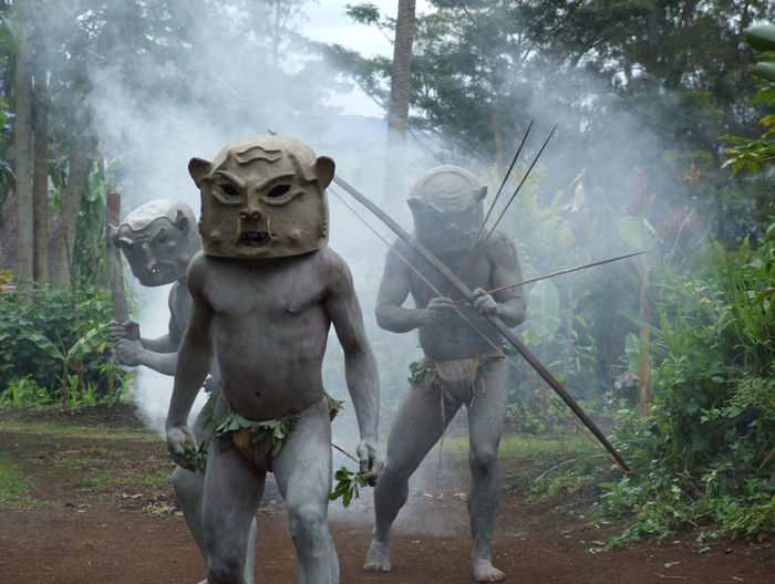 Asaro Mudmen, Papua New Guinea Goroka Papua New Guinea Travel Photography Asaro Bow And Arrow Day Front View Men Mudmen Nature Outdoors Png Tourism Pngculture Travel Destinations Warriors The Traveler - 2018 EyeEm Awards