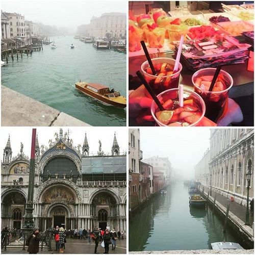 Day 1 of the Italian adventure down, spent the day getting lost in Venice, well, there are worse places to get lost Venice Hotsangria Family Galsholiday Italy Adventure Getlost GreyDay Followback Traveller