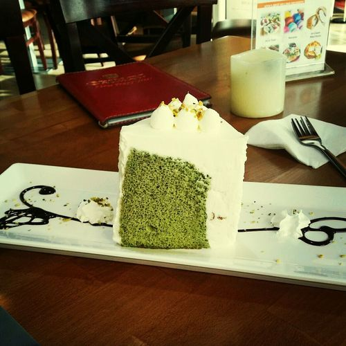because anything with greentea is LOVE! Pastries First Eyeem Photo