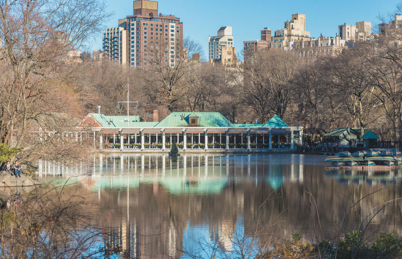 Architecture Building Exterior Built Structure Business Finance And Industry Central Park Central Park - NYC City Day Nature New New York No People Outdoors Reflection Sky Tree Water