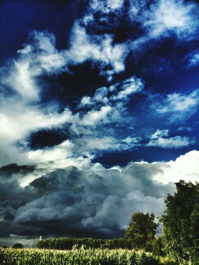 Storm Clouds Nature Urban Landscape Blue Sky Summer Views Open Edit Protecting Where We Play The Week On Eyem Landscape_photography Blue Sky And Clouds Colour Of Life The Great Outdoors - 2017 EyeEm Awards Perspectives On Nature