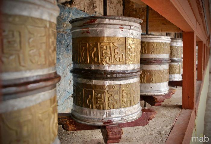 Monastery Leh Ladakh.. Spirituality Religion Place Of Worship Faith Peace Buddha Buddhism Ladakh Hill Culture God India Travels Leh Buddhist Temple Worship Prayers Prayer Wheels Gridlove
