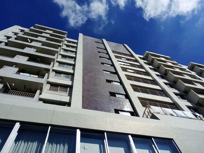 都営西大久保アパート5号棟 Japan Tokyo Architecture Built Structure Low Angle View Sky No People Modern Façade