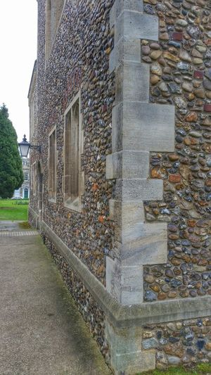 Buttress Church Quoins Medieval Architecture Stone Architectural Detail Chelmsford Cathedral Stone Wall Flint Stone Detail