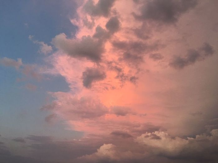 Cloud - Sky Sky Beauty In Nature Scenics - Nature Cloudscape Sunset Dramatic Sky Nature Tranquility No People Tranquil Scene Idyllic Backgrounds Low Angle View Atmosphere Environment Moody Sky Sunlight Atmospheric Mood Outdoors Meteorology Abstract Wind Bright