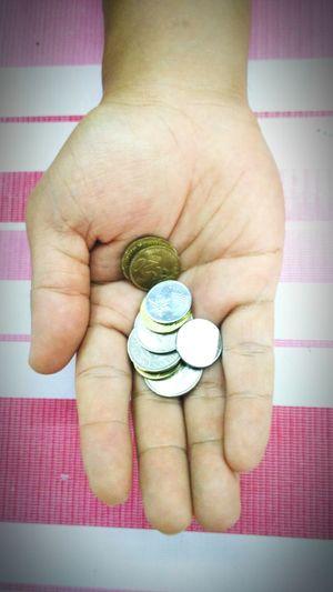 Coins on the hand Coins On The Hand Coin Currency Finance Wealth Adult Savings People