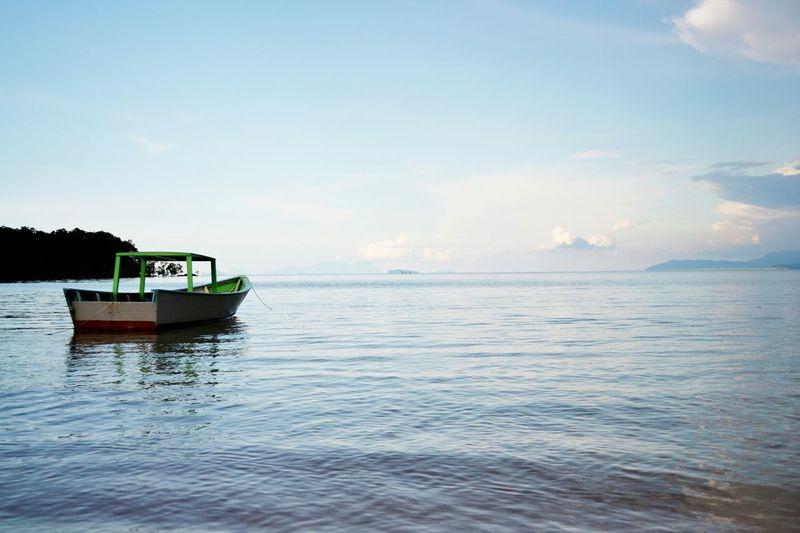 Beach Boat Sea Sea And Sky Sea View LunduSarawak Sarawak No Edit/no Filter Original Malaysia