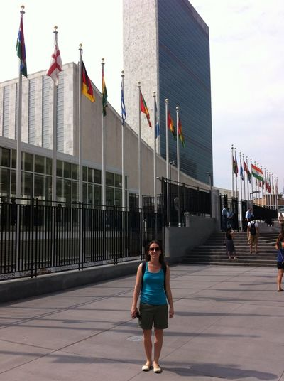That's Me United Nations New York