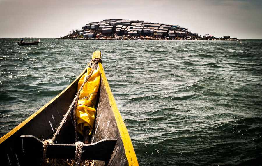 Migingo Island, Lake Victoria Adventure Africa Barsch Beauty In Nature Colors Corrugated Iron Fishing Boat Fishing Boats Fishing Village Holiday Island View  Islandlife Kenya Lake Victoria Lake View Migingo Migingo Island Reisen Stranded Tanzania Travel Traveling Uganda  Water Yellow Color