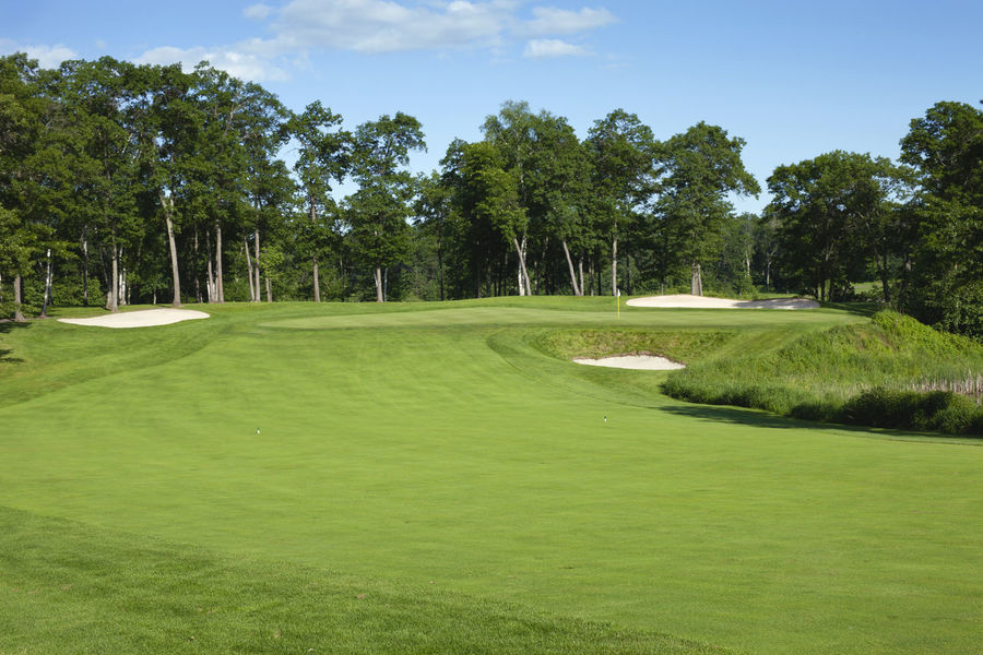 Clouds Fairway Golf Golf Course Golf Greens Grass Green Color Landscape Minnesota No People Pin Sand Trap Scenic Sky Sunlight Trees USA