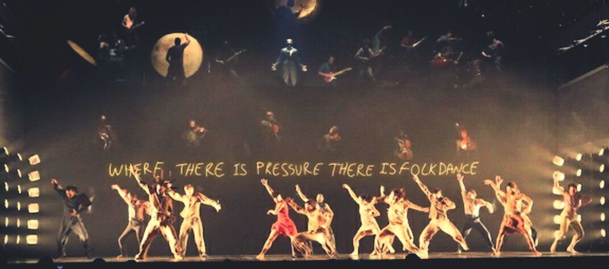 Where there is pressure there is folk dance! Contemporary Dance Political Mother Performance