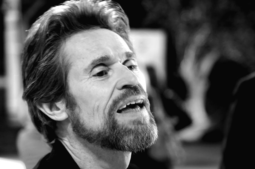 Willem Dafoe Actors Actor Star Holliwood Star Holliwood Vip Star Interview Star International Star Close Up Holliwood Holliwood Studios Cinema Movie Star Movie Star Cinema Festival Willem Dafoe Black & White Blackandwhite Black And White Headshot Portrait Real People One Person Lifestyles Close-up Emotion