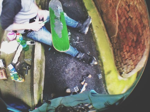 Inlines Teamwork Skateboard Chillin'
