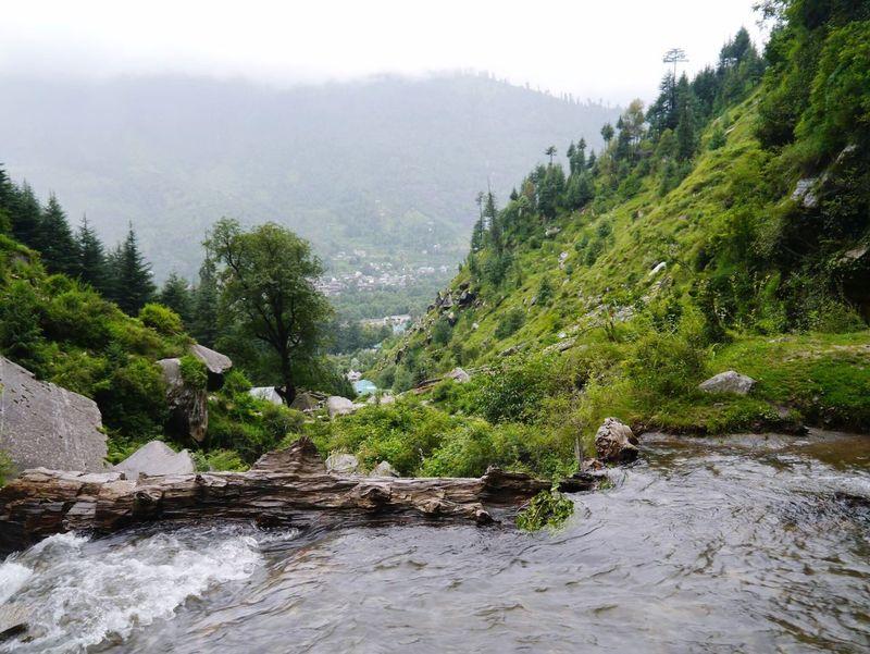 Manali Himalayas Himalayan Road India Hello World