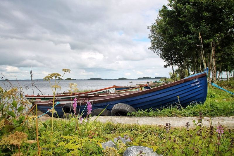 Lough Corrib. Let's push the boat out! EyeEm Nature Lover Tadaa Community Enjoying Life Cloud And Water